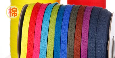 服装领口商标纯棉织带的重要性