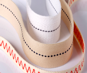 纯棉间色织带