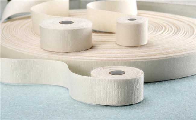 超宽纯棉平纹织带
