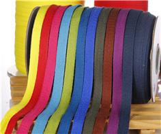 服装纯棉单人字织带