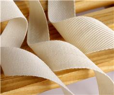 服装纯棉双人字织带