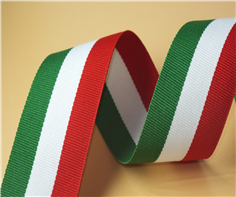 涤纶间色奖牌织带